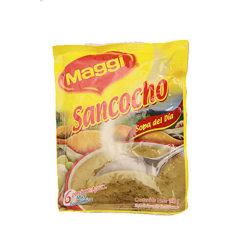 Sopa Maggi sancocho