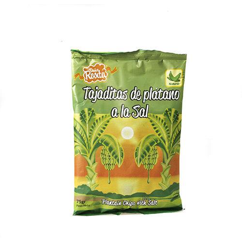 Platanitos con sal Doña Rosita