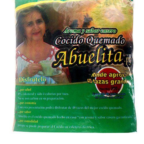 Mate cocido quemado La Abuela