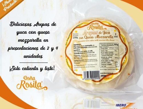 Arepas de Yuca con Queso Mozzarella [NUEVO PRODUCTO]