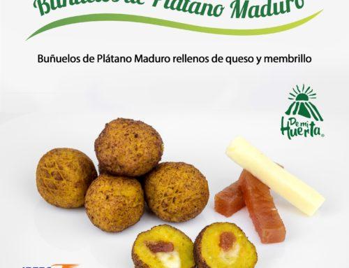 [RECETA] Buñuelos de Plátano Maduro