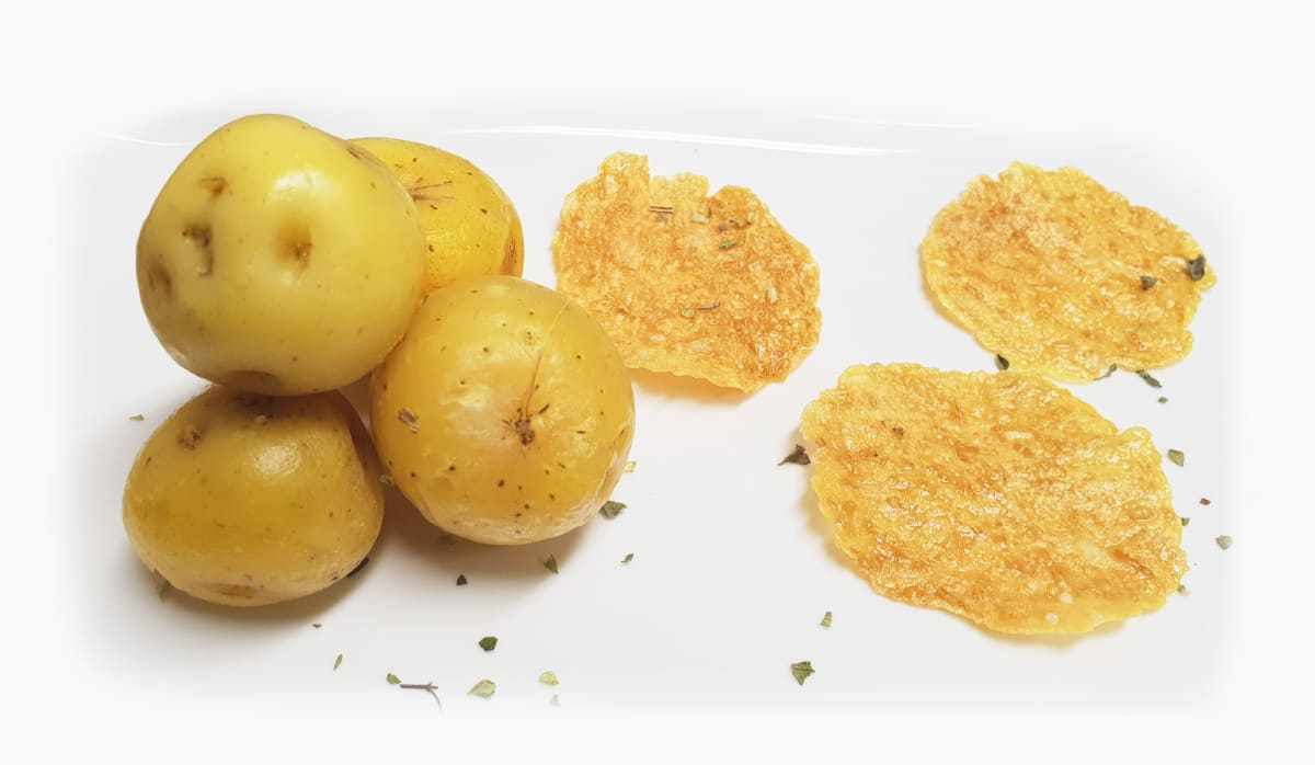 Snack de papa criolla